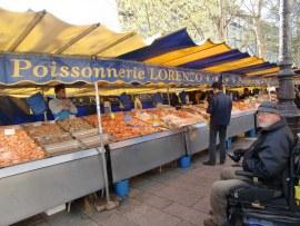 mercato bastille in boulevard richard lenoir
