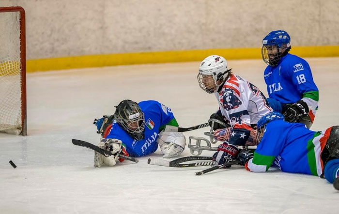 giocatori para ice hockey
