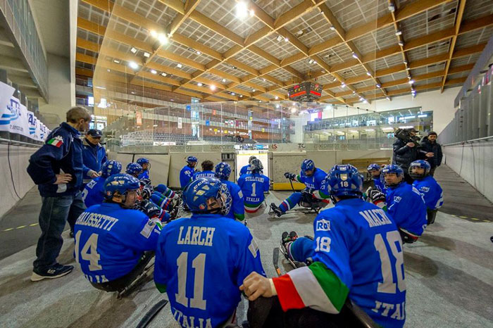 nazionale italiana para ice hockey