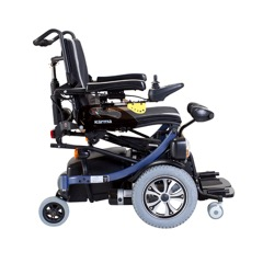 Ergo stand la carrozzina verticalizzante 100 a for Joystick per sedia a rotelle