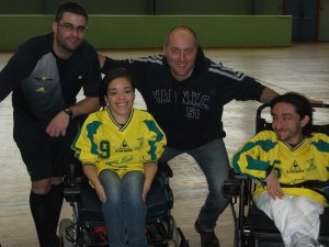 powerchair football giocatori