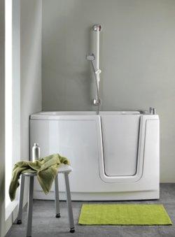 Ponte giulio le novita per il bagno accessibile in mostra a cersaie - Seggiolino per vasca da bagno ...