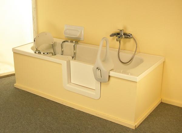 Vasche Da Bagno Con Sportello : Vasca con sportello vascapoint: la comodita senza il minimo disagio