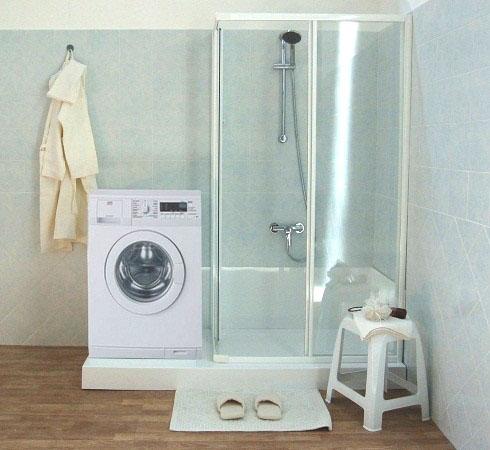 Trasformazione della vasca in doccia in una sola giornata - Doccia a pavimento costi ...