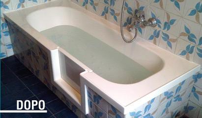 Bagno disabili con vascapoint affidabilita 39 e assistenza - Vasca con porta prezzi ...