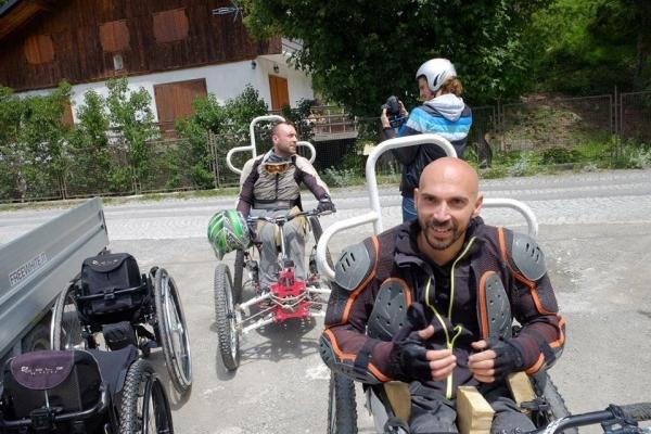 Viaggio Italia disabili quad