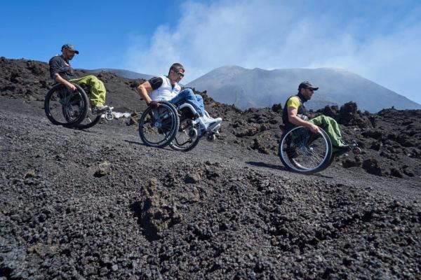 disabili carrozzina montagna