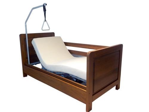 Letto per disabili con barre di protezione anticaduta a - Sbarre per letto ...