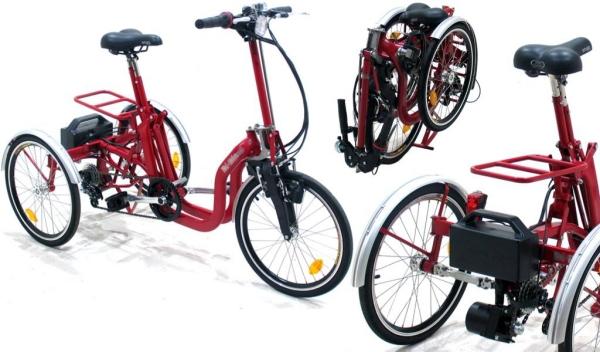 Bicicletta Ripiegabile Per Disabili E Anziani Disabilicom