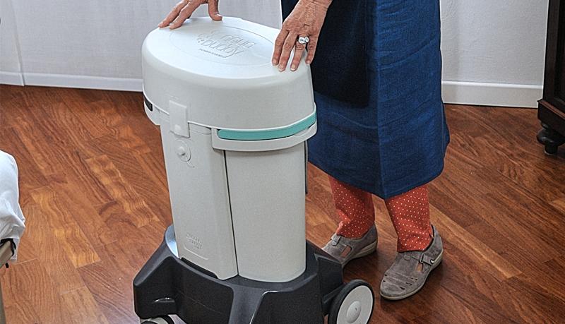 Vasca Da Bagno Trasportabile : Aquabuddy home: bagno portatile per lavare a casa persone allettate