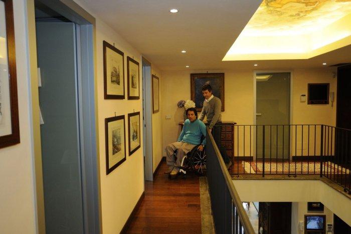 Architettura senza barriere team di progettazione e for Piani domestici accessibili per disabili