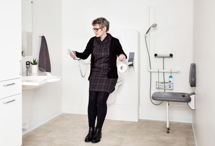 Solleva wc elettrici fai da solo e komodo per bagno - Maniglie per disabili bagno ...