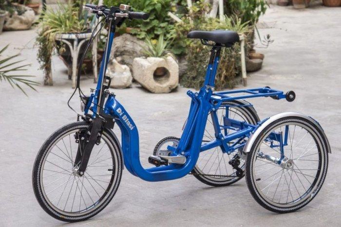 Bici Pieghevole Di Blasi.Triciclo Pieghevole A Tre Ruote Per Anziani E Disabili Disabili Com