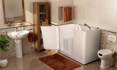 Vasca Da Bagno Molto Piccola : Vasche con sportello e vasca doccia con sportello anche per bagni