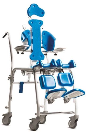 ISeggiolone polifunzionale e sistema posturale con funzione comoda e sedia doccia per disabili
