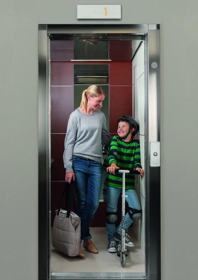 ISostituire il vecchio ascensore con KONE NanoSpace™, la soluzione rapida e vantaggiosa