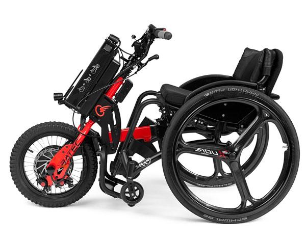 IBatec Mini di Ottobock: il nuovo handbike a propulsione elettrica per carrozzine