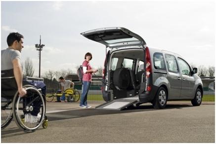 IRenault Kangoo allestimento Essential e Serenity  per trasporto disabili in carrozzina by Olmedo