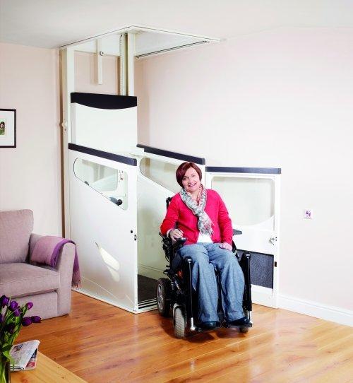 IL'ascensore Stannah per appartamento e casa che si installa senza grandi lavori strutturali