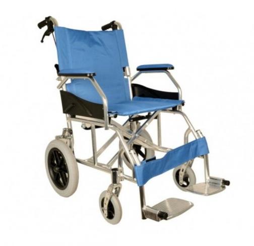 ICodice sconto su sedia a rotelle economica, leggera e pieghevole per anziani e disabili