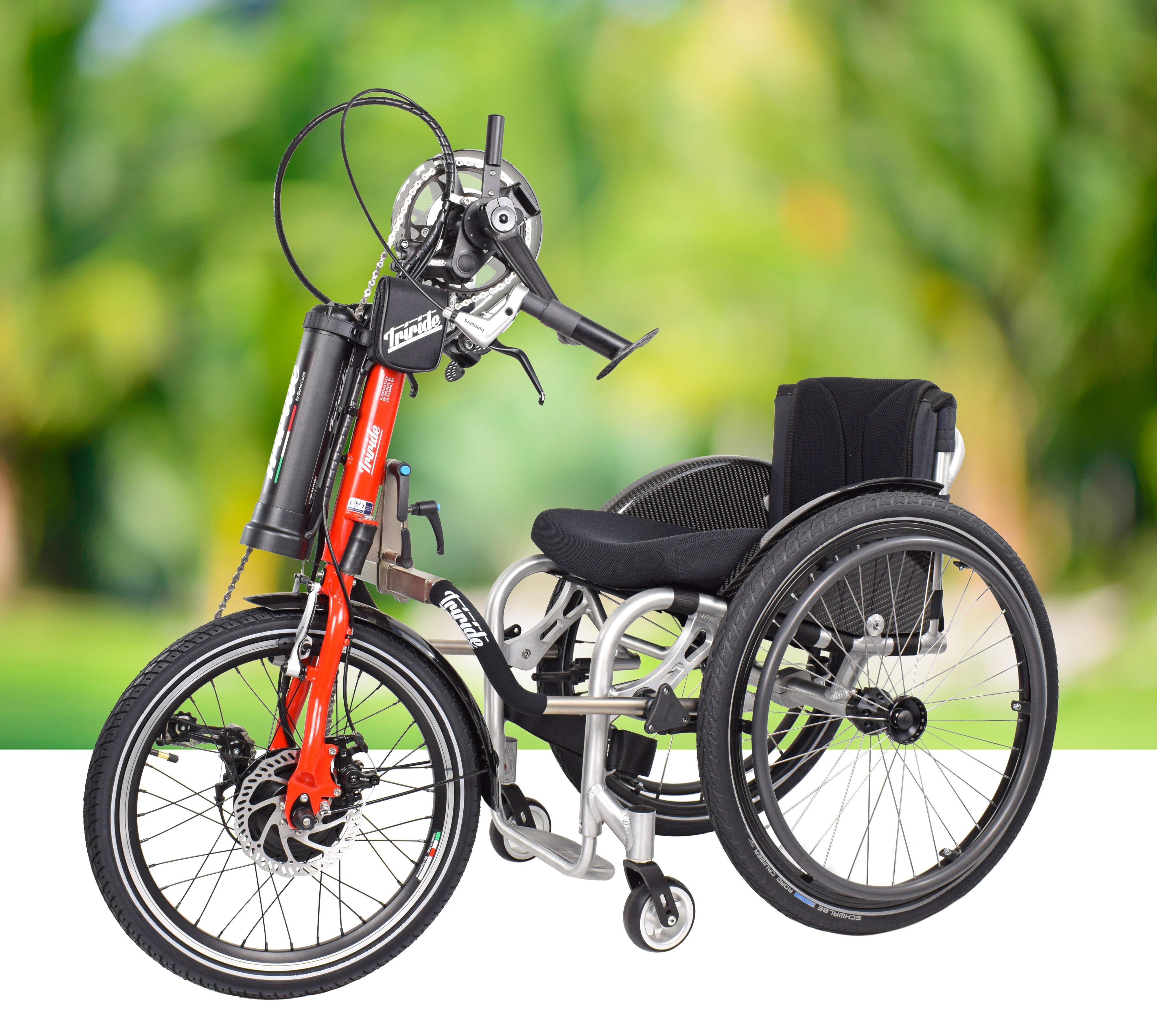 ITribike: la nuova handbike (ibrida e non) con tecnologia Triride ispirata alla bici di Zanardi