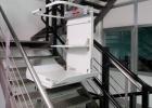 Stairiser EX, il montascale con pedana su scale curve per anziani e disabili in carrozzina