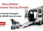 Dacia Dokker veicolo per trasporto disabili by Olmedo: convenienza e qualita' in unico prodotto