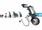 BycoDrive: da scooter pieghevole a unita' trainante per carrozzina in pochi gesti