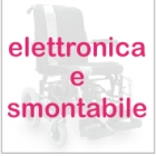 carrozzina elettronica smontabile